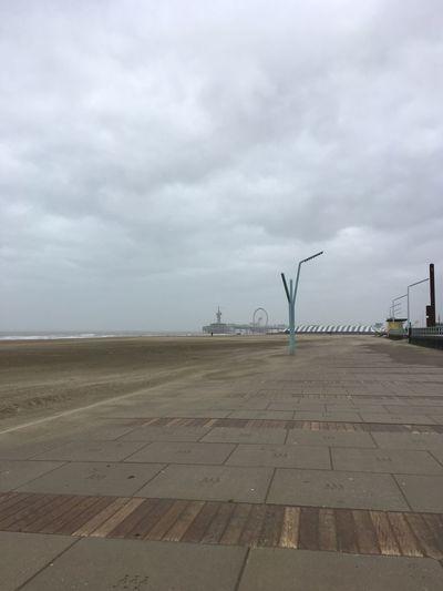 The Netherlands Cloud - Sky Day Nature No People Outdoors Scheveningen Pier Scheveningen Promenade Sky
