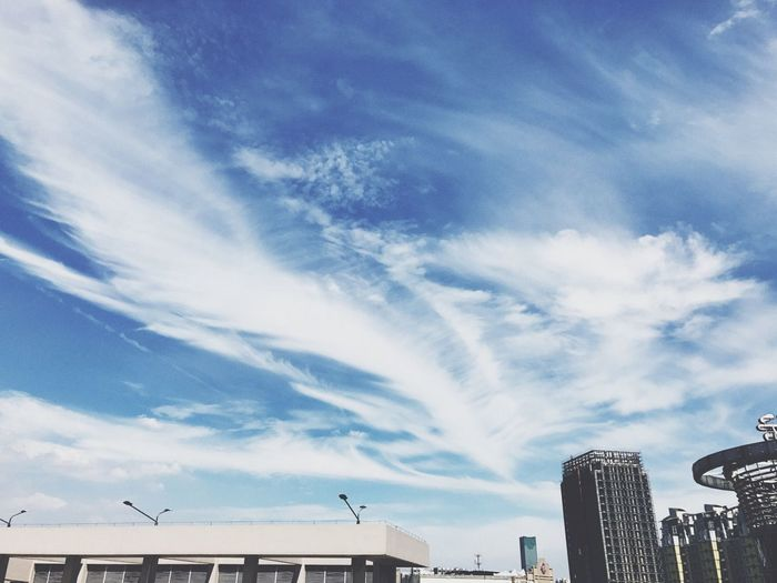 Architecture Built Structure Building Exterior Cloud - Sky Sky Low Angle View Day Outdoors No People City Nature