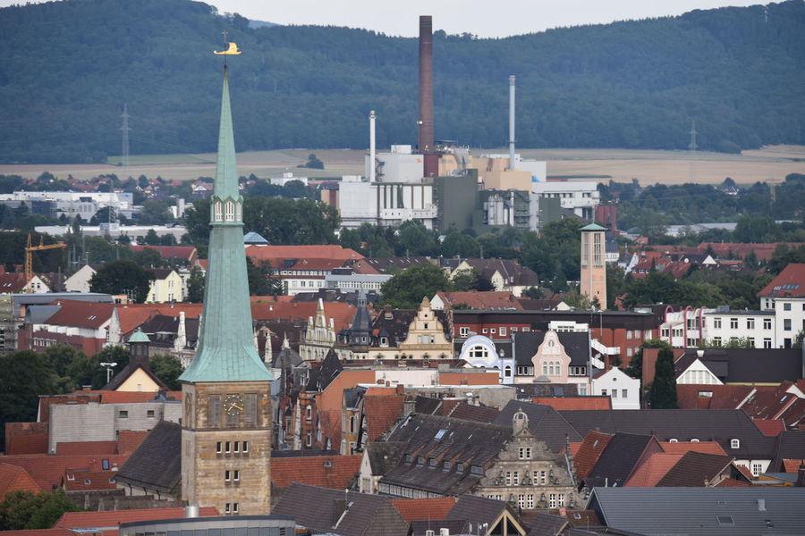 Hameln Hamelin Marktkirche Niedersachsen Lower Saxony Street City Cityscape Cityscapes