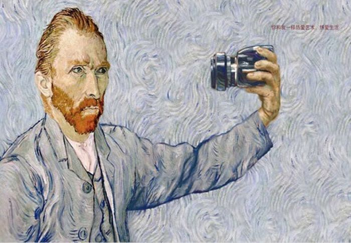 That age maybe was broken by photo what if Vincent had a camera.