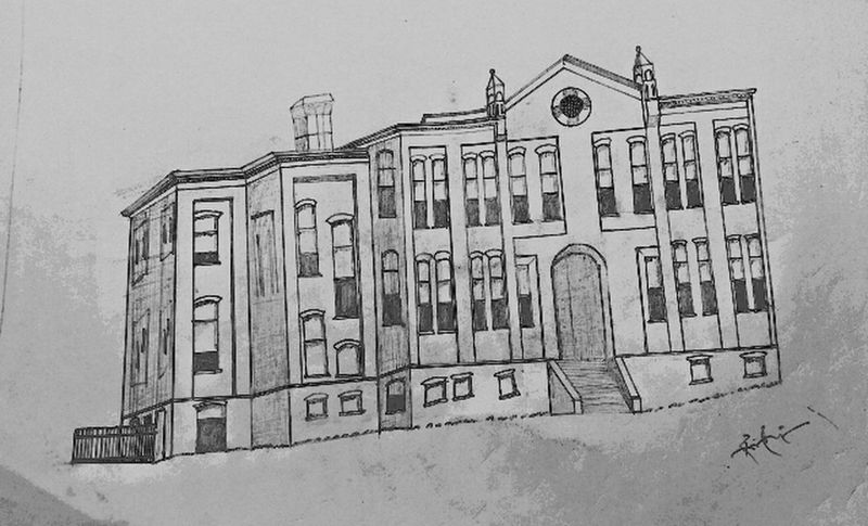 First try 😉 Architecture No People Hello World ✌ Black & White Check This Out Sketching Hand Drawing ArtWork