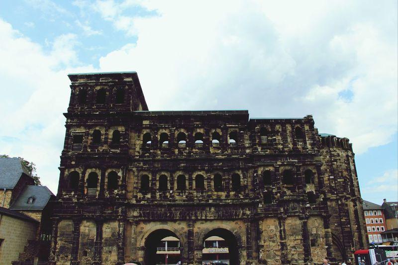 Architecture Porta Nigra Trier Black Gates