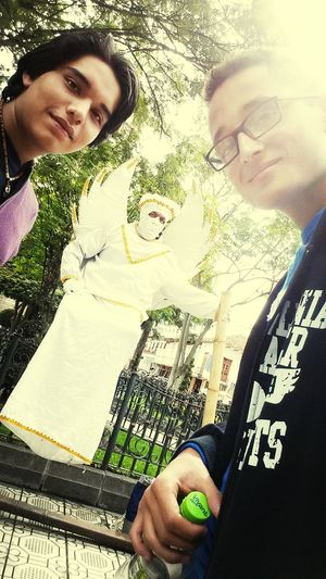 Hi! Thats Me And My Friend Check This Out Brothers with my friend mono hah