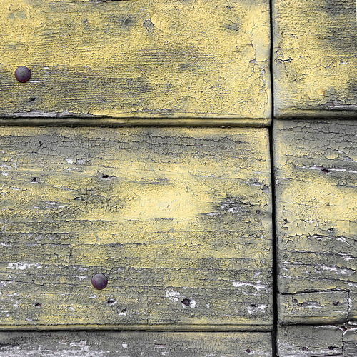 Full Frame Shot of Old Weathered Wooden Boards Background ArchiTexture Backgrounds Blue Day Full Frame No People Outdoors Peeling Scratched And Cracked Wood Textured  Textures And Surfaces Timber Tranquility Wood Wooden Yellow