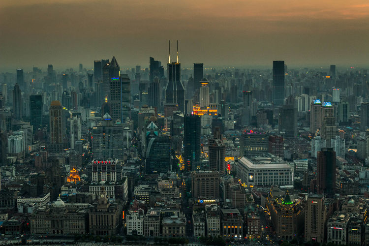 Perfect view of Shanghai. 🌆 Long Exposure Canon Photography Cityscape Shanghai China Travel Travel Destinations Trip Sunset View Skyline Buildings Sky Skyscraper Architecture Colors Colorful Lights Sun Exploring Landscape City Cityscape Urban Skyline Skyscraper Sunset Modern Dusk
