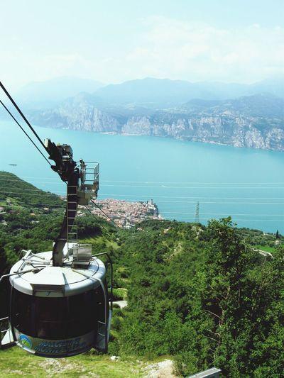 Sky Nature Lake Landscape Italy Lake Garda Malcesine Travel Destinations