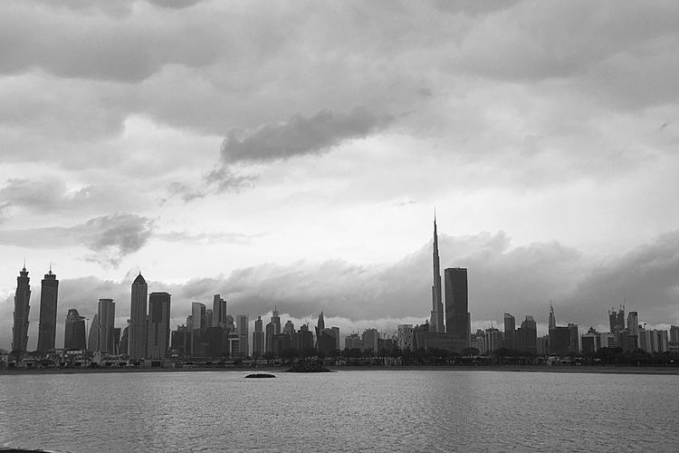 Dubai Burj Khalifa Blackandwhite Photography IPhoneography The Architect - 2016 EyeEm Awards The Great Outdoors - 2016 EyeEm Awards