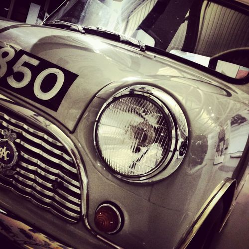 Super Retro Hot Wheels Mini Austin Seven Uhr850 Heritage Motor Centre Warwickshire Black And White Blackandwhite Photography