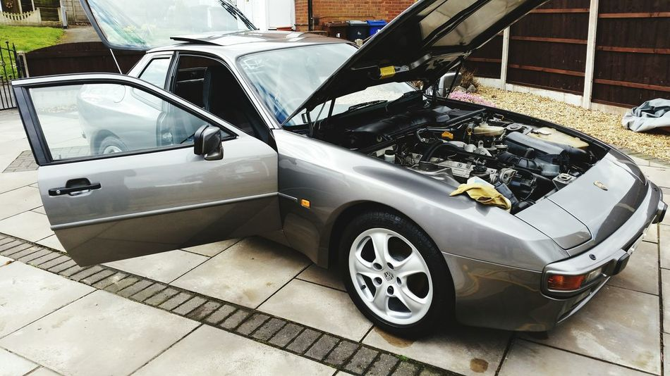 Cleaned my baby today and took her for 1st drive of the year 😃 💨 Check This Out Porsche944 Porsche Vintage Porsche