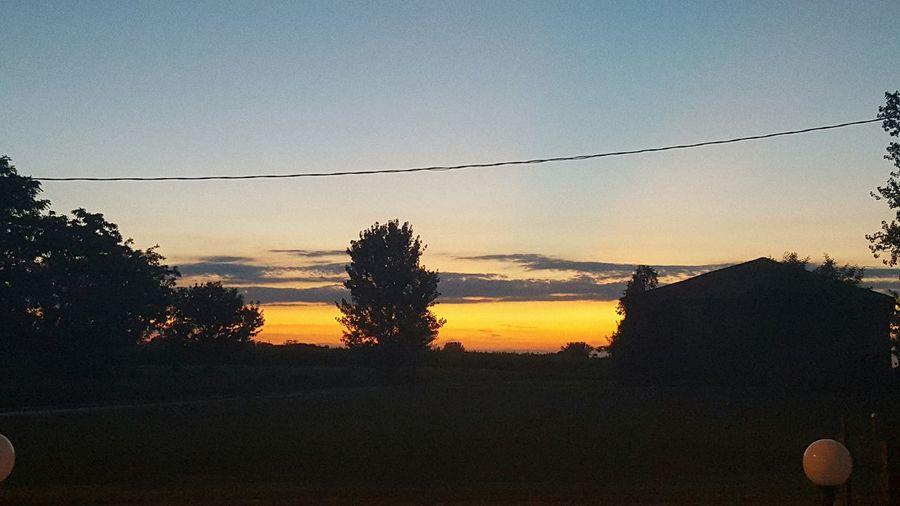 Sunset Summer Sunshine Sun Sky Cielo Meraviglioso Tramonto Landscape