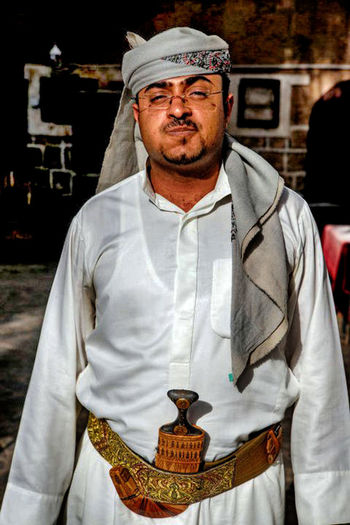 Portrait One Person Looking At Camera Waist Up Clothing Standing Adult Front View Men Traditional Clothing Architecture Religion Mid Adult Mature Adult Males  Hat Occupation Serious Aggression