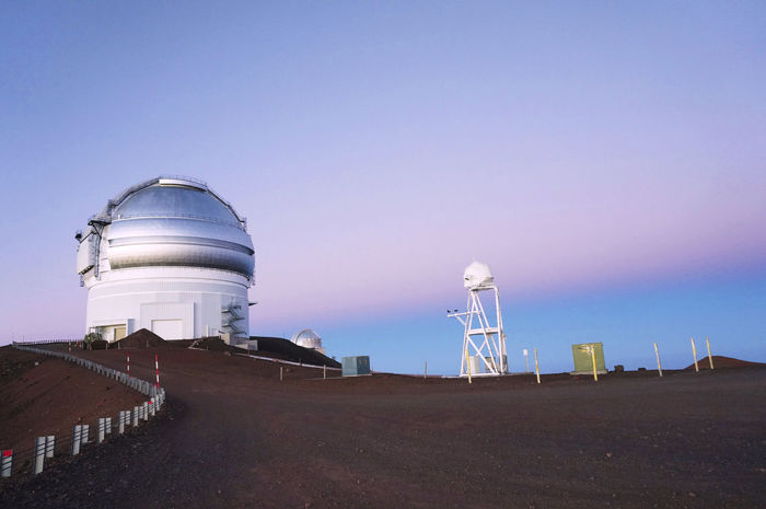2013 Architecture Built Structure Clear Sky Dome Hawaii Island Of Hawaii Mauna Kea Observatories Mountain Observatory Sky Star Sun Sunrise ハワイ ハワイ島 マウナケア マウナケア天文台 天文台 山頂
