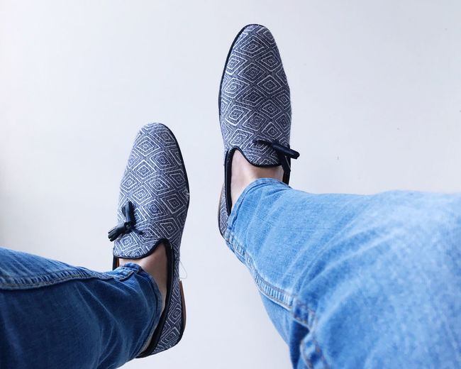 Loafer time Shoe Low Section Jeans Human Leg Casual Clothing Men Human Body Part Real People Fashion Personal Perspective Two People Lifestyles Standing Day Friendship Togetherness Outdoors Close-up People The Netherlands Simplicity Minimalism Minimal IPhoneography