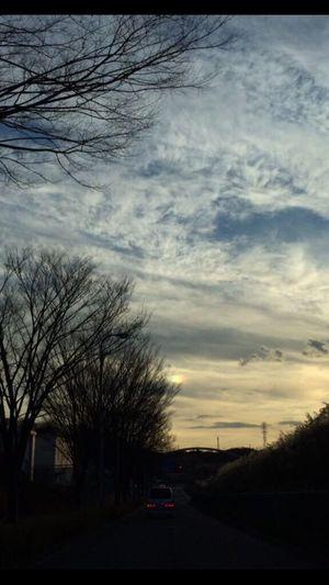 彩雲 くも 自然 空 ソラ 雲 彩雲
