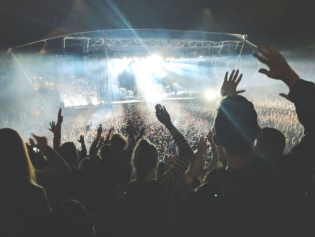 Popular Music Concert Fan - Enthusiast Fame Human Hand Performance Group Crowd Applauding Audience Pop Rock Live Event