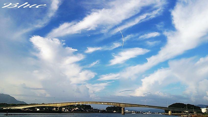 皆様~(^o^)お疲れsummer~(^з^)-☆ Miyazaki Kushima Fresh Air Yuka  Enjoying Life Healing Blue 夕凪 Bluesky Pray For Kyushu