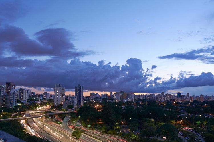 Sunset in Sao