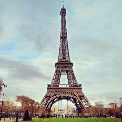 Tour Eiffel Paris Beautiful Myownphoto