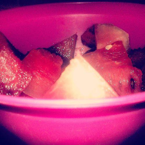 Yum yum Wrongseason Wrongfruit Watermelon Instafun
