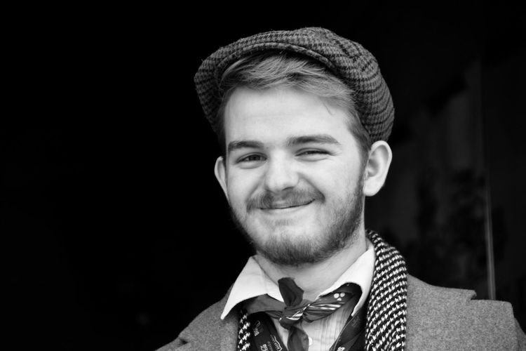 Black And White Monochrome Portrait Looking At Camera Street Photography Black Background Walking Around The City  Headshot Only Men Bow Tie Beard Walking In London Walking In The Street London Captured Moment Take Photos Eye4photography  EyeEm Gallery Costume Disguise
