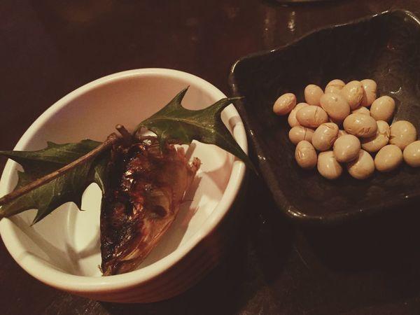 節分 柊と鰯と豆