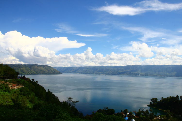 Toba lake in North Sumatera Photography By @jgawibowo Shot By Arif Wibowo Scenic Photograghy Scenic View INDONESIA EyeEm Nature Lover EyeEm Landscape Eyeem Landscape Official Photo Club📷 EyeEm Gallery EyeEmNewHere Like4like Likeforlike Photography Travel Water Cloud - Sky Nature Outdoors Landscape Mountain Tree Travel Destinations Blue Beauty In Nature Scenics Lake Vacations Forest