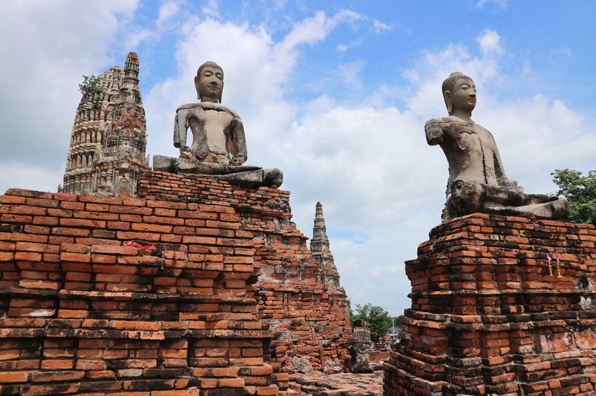 Showcase July Temple Canon Eos M10 Thailand_allshots Thailand Photos Ayuddhaya Ayutthaya | Thailand Ayutthaya Thailand Ruin Temple Ayutthaya Historic Park Wat Chaiwatthanaram