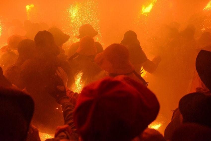 La Patum, Berga, Catalonia Enjoying Life Streetphotography Catalonia Fire