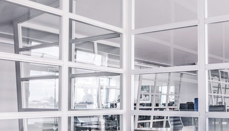 Frame It! Windows Reflection Frames White Album Architectural Detail Architecture_collection Geometric Shapes Framed Office Building Office Space My Favorite Photo The Architect - 2016 EyeEm Awards Pivotal Ideas Arc+