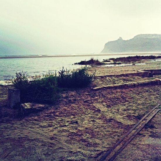 Cagliari Winter Sea Beach Photography Sella Del Diavolo