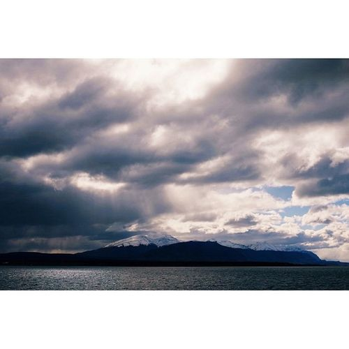 View across water from Puerto Natales, Patagonia. Patagonia Travel Travelphotography Ricohgr vscocam latergram