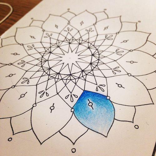 曼荼羅 マンダラ Mandala Mandalas Art Drawing My Drowing My Art Create Relaxing
