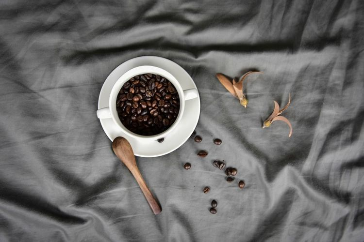 Thailand Photographer Food And Drink Cup Indoors  Food Directly Above Coffee Still Life Coffee - Drink Drink Spoon Refreshment Coffee Cup Table