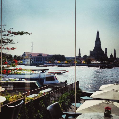 Iconic Buildings Travel Photography Iphonephotography Historical Place Historical Building Travel Buddhist Temple ASIA Bangkok Thailand. Bangkok Urban Landscape South East Asia Chao Phaya River Wat Arun Seeing The Sights Urban Geometry Urbanphotography Urban Urbanexploration Urban Nature Urban Lifestyle Riverside River View Cityscapes City Life