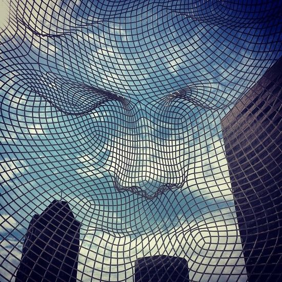 Thebow Sculpture Face
