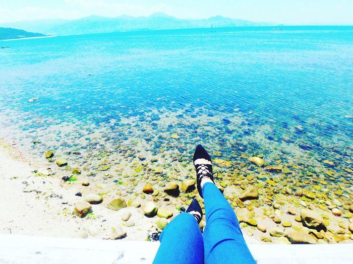 Japan Fukuoka Itoshima Sea Blue Beach Outdoors Nature Day Sunny☀