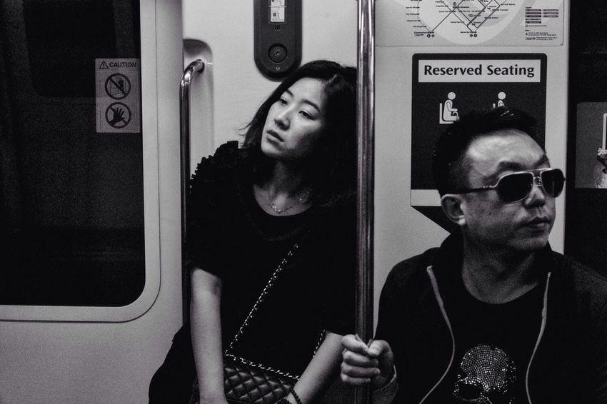 My Daily Commute Streetphotography Subway Wirokesuma Blackandwhite