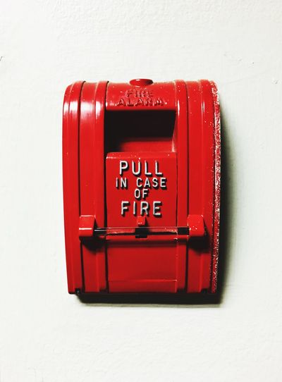 Communication Red Mail Text No People Day Close-up Outdoors Alarm