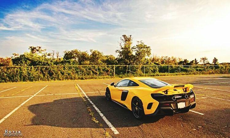 McLaren Supercar Sun The Best Yellow