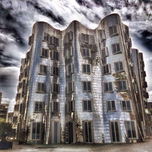 Düsseldorf Düsseldorf, Medienhafen Gehry Buildings Architecture Architecture_collection Architecturelovers