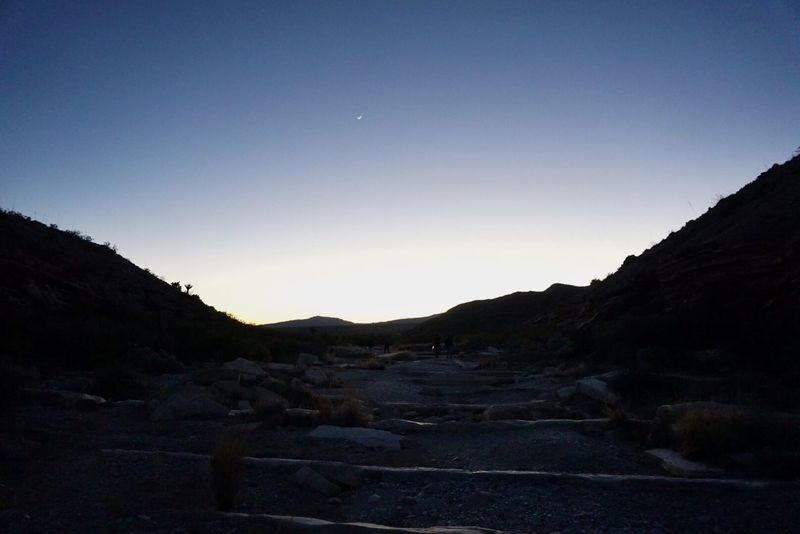 The Moon shining bright in Bigbend Westtexas