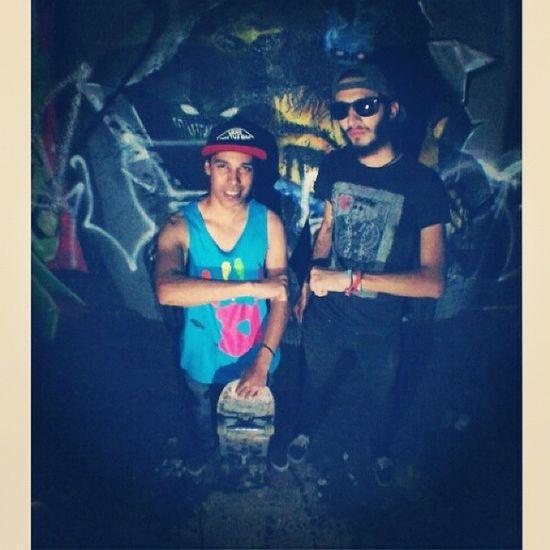 Infraganti Swag Friend Graffiti hxc skate fisheye