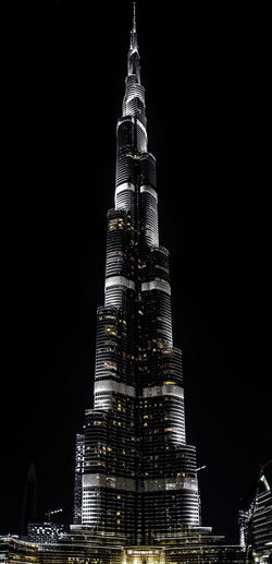 Architecture Building Exterior Built Structure Burj Kalifa City Cityscape Illuminated Modern Night No People Outdoors Sky Skyscraper Tall - High Tourism Tower Travel Travel Destinations Urban Skyline EyeEmNewHere An Eye For Travel The Graphic City The Traveler - 2018 EyeEm Awards