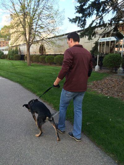 MyLoves Happy Puppy Boyfriend Nature Strolling DTRW Enjoying Life Anniversary Date