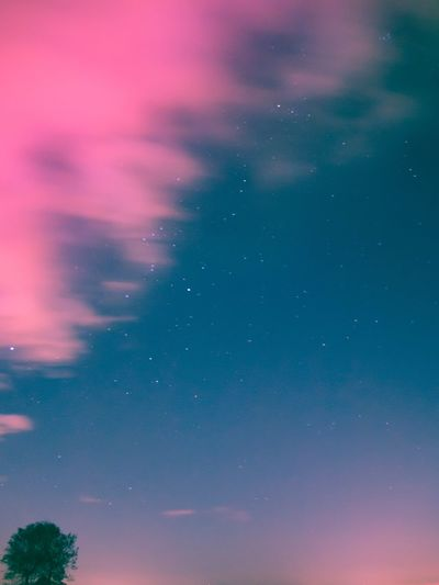 Clouds in fire Blue Long Exposure Stars Star - Space Sky Night No People Beauty In Nature Nature Backgrounds Space Multi Colored Astronomy Outdoors Galaxy EyeEmNewHere Editor's Picks