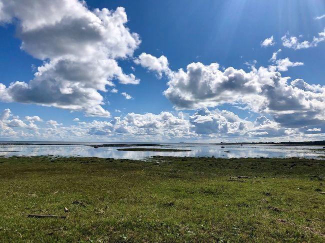 Cloudy and sunny sky on Hiiumaa Island, Estonia Visitestonia Estonia Hiiumaa Sky Cloud - Sky Scenics - Nature Tranquility Water Tranquil Scene Beauty In Nature Sky Cloud - Sky Scenics - Nature Tranquility Water Tranquil Scene Beauty In Nature