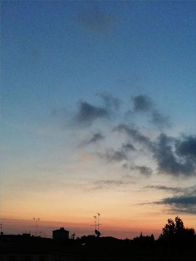 Colour Of Life Alba Sunrise Sunrise Silhouette Sunrise And Clouds Sky And Clouds Sky_collection Budrio [Budrio]