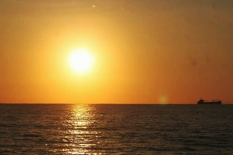 Sunset Scenics Beauty In Nature Horizon Over Water EyeEmNewHere Sanfernandocitylaunion