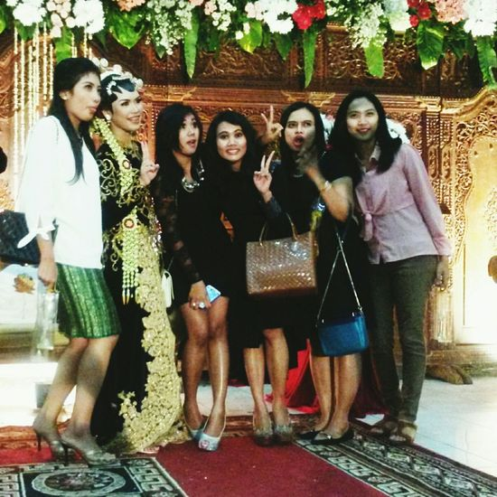 Happy wedding, So Beautiful  Beautiful Day :) With My Sister  and friends