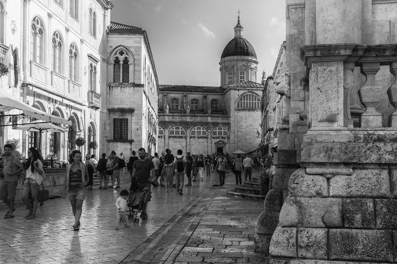 #croatia #dubrovnik Architecture Building Exterior Built Structure City Outdoors People